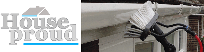 Gutter cleaning specialists in the Chester area by House Proud.